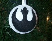 Star Wars Rebel Ornament 2 3/4 Inches  Ready to Ship ((LIMITED))
