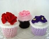 Flower Power Cupcakes PDF Pattern