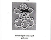 Easy Tatting Patterns - The Little Book of Tatted Angels