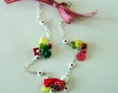 Cute Strawberry Chain Necklace