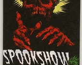 Spookshow Funnies Trading card wax pack - ACEO Monster cards
