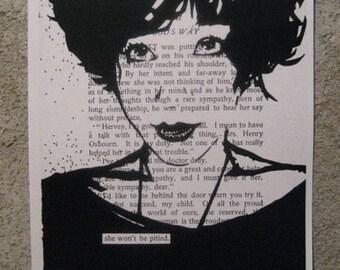 PRINT - She Won't Be Pitied