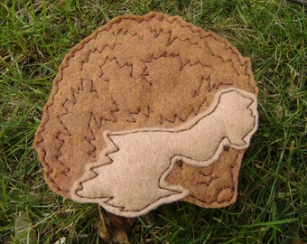 Cyril the Hedgehog Applique Iron on Version