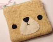 Kawaii Bear Pouch RESERVED for karmade