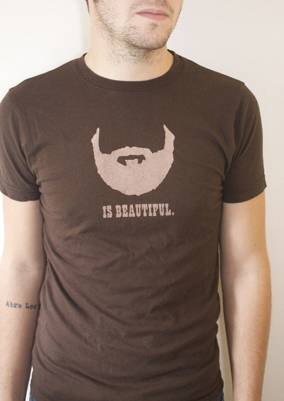 Beard is Beautiful Mens Tee