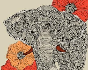 The Elephant print
