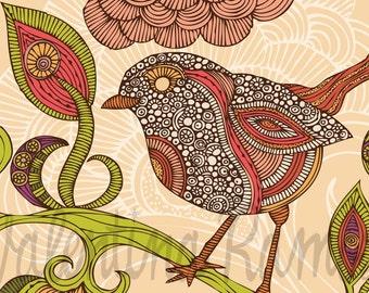 Jill the bird Print