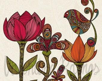 In the Garden print