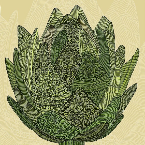 Artichoke - Eat your veggies digital print