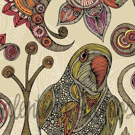 Peter the parrot Print