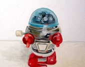 Little Red and Blue Robot Pring