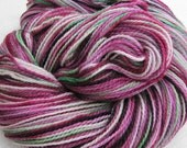 Superwash Merino Fingering-weight Handdyed Yarn - Allium -
