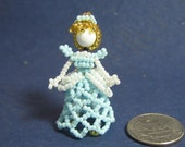Cinderella beaded figurine