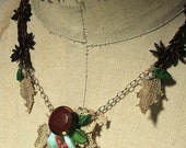 wildflowers in the orchard necklace