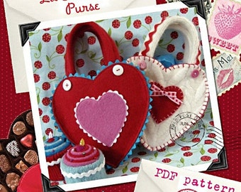 Lil' Sweetheart Purse - PDF PATTERN