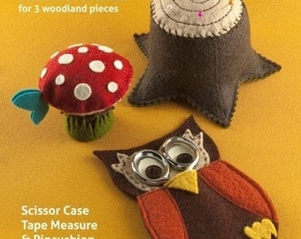 Woodland Sewing Set - PDF PATTERN