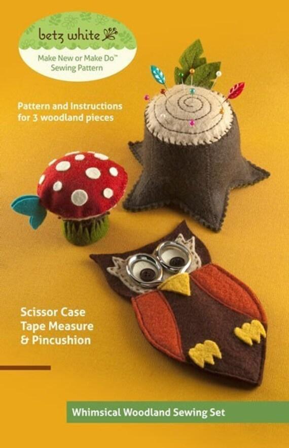 Woodland Sewing Set - PDF PATTERN