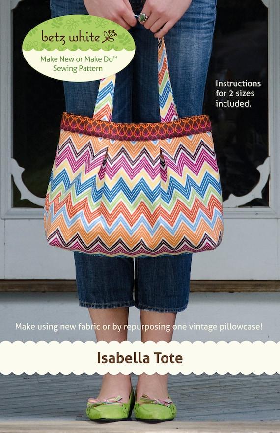 Isabella Tote - PDF pattern