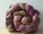 Yerba Mate, handdyed 18.5micron merino wool 125grams, 4.5oz