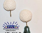Handcrafted Polymer Clay Golf Ball Pot Holder Magnets