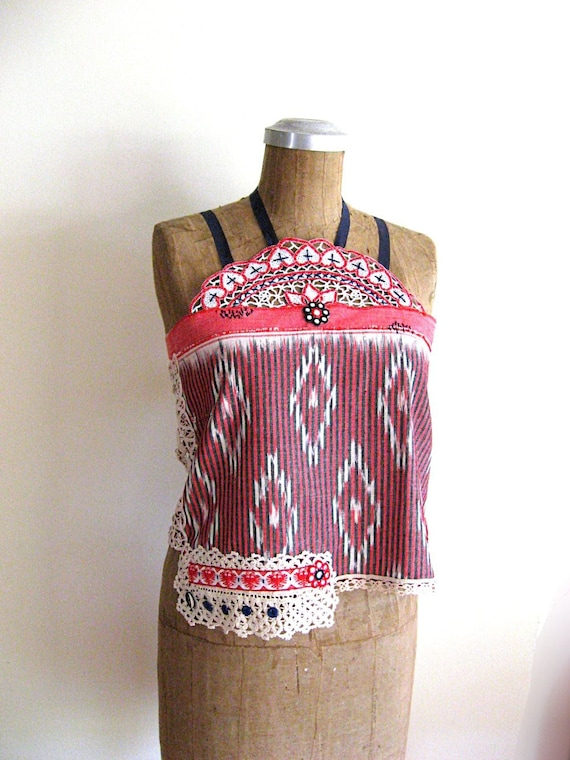 Indian Ikat top