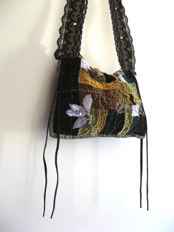 DEPOSIT RESERVED for Kristy - Gaia Velvet bag