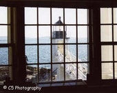 Marshall Point Lighthouse, Maine (2) 8x10 Matted Photograph