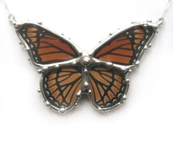 Viceroy Butterfly Necklace
