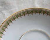 theodore haviland limoges france saucers set of four