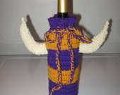 Vikings Wine Bottle Cozy