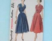VINTAGE Simplicity Dress Pattern 3202 SIZE 14