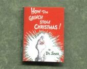 Seuss 'How the Grinch Stole Christmas' Dollhouse Book