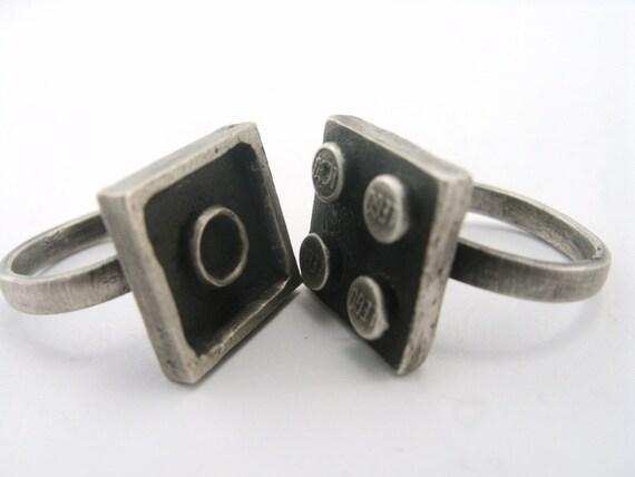 Interlocking Rings - Set of 2