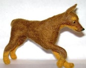 Custom sculpture of your dog or friend's favored companion