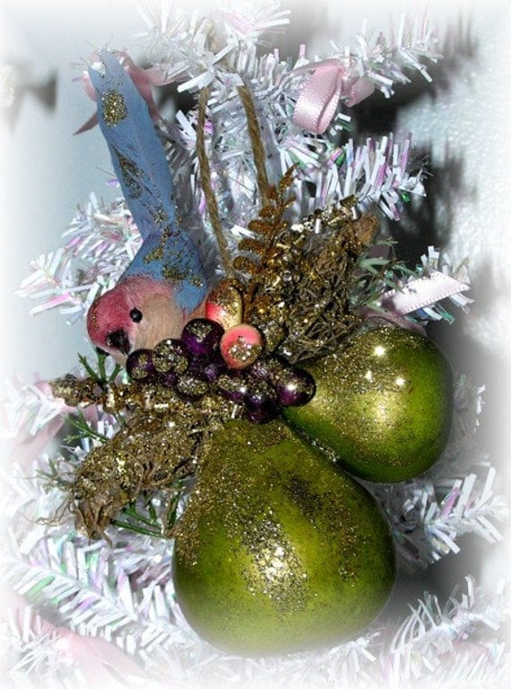 Partridge In A Pear Tree Ornament Partridge Tree ...