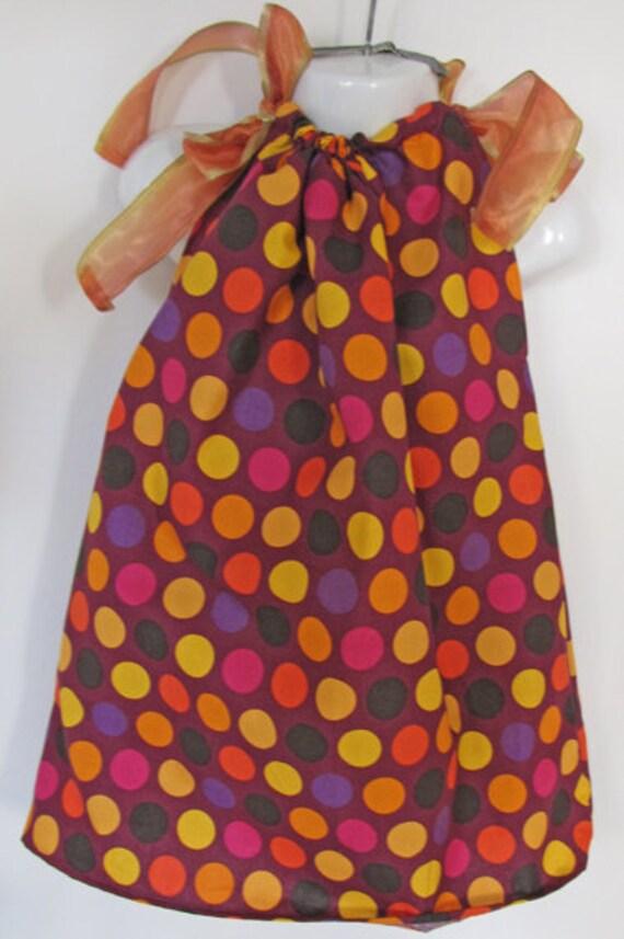 Polka dot Pillowcase dress