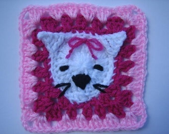 Tasmanian Tiger Square rugalugs crochet pattern