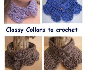 Classy Collars (crochet patterns)