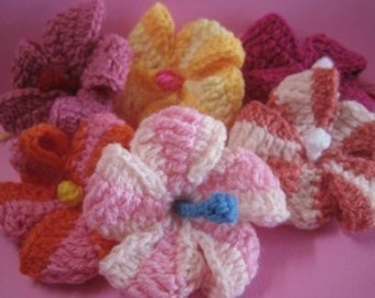 Hibiscus (crochet pattern) September is Spring in Australia