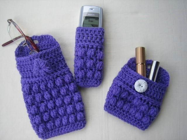 Free Crochet Pattern Eyeglass Case : Glasses Case Crochet Pattern^@#