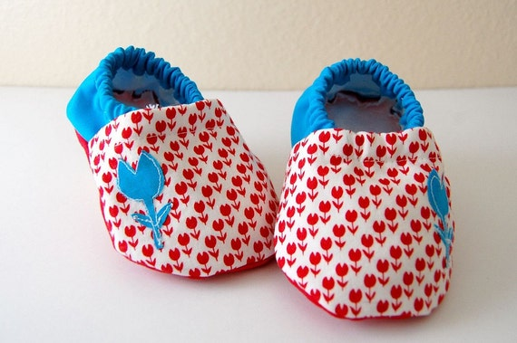 Baby Booties, 3-6 Months