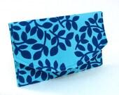 Card Wallet in Leaf Dot