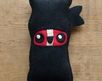 Ninja Bacon Plush made to order