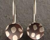 Spotted Mokume Gane Earrings