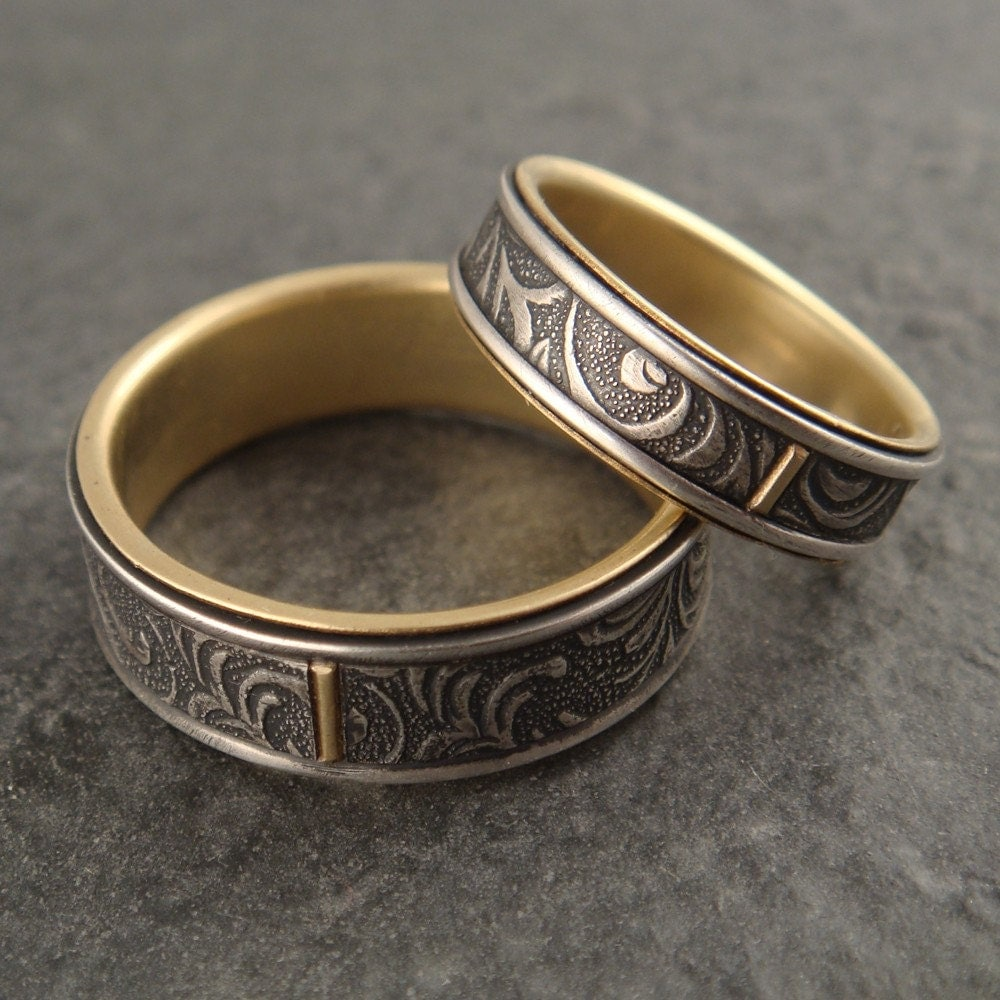 art nouveau wedding ring art deco wedding band Art nouveau wedding ring Mens Wedding Rings Art Deco