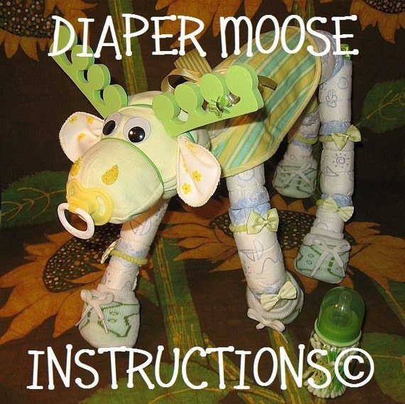 Diaper Moose Instructions Learn Make Morty
