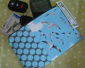 Seagulls - Fabric Zipper Wallet Pouch
