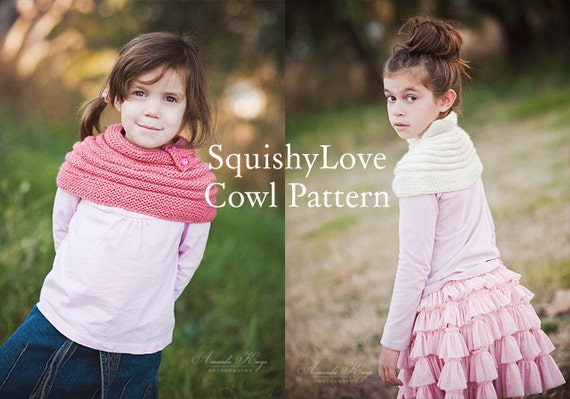 PATTERN Squishy Love Cowl