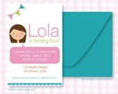Printable Custom Birthday Invite