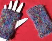 Typist's Friend - Supersoft black wrist-warmers